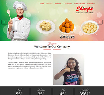 Shiropa Bakery & Snacks Food Manufacturing