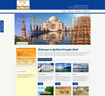Golden Triangle (A Travel Consultant)
