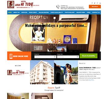 :: Hotel Jairam Hi - Tide ::